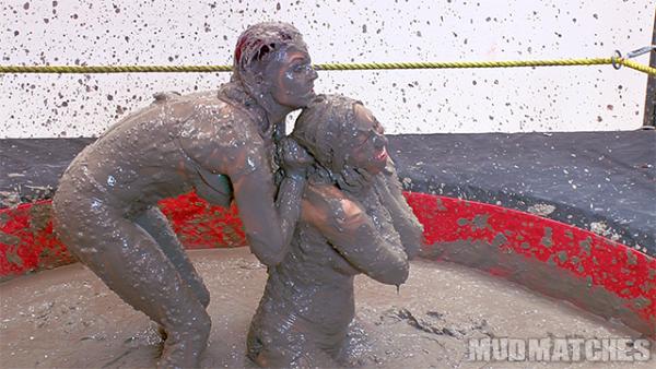 Samantha Grace Sarah Brooke nude mud wrestling
