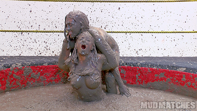 Samantha Grace Sarah Brooke mud wrestling